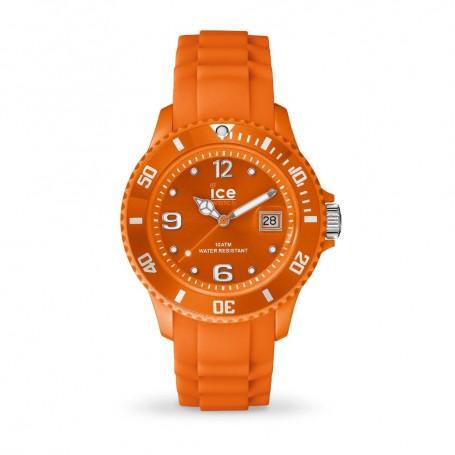 Déstockage montre Ice Watch Ice Forever orange en soldes