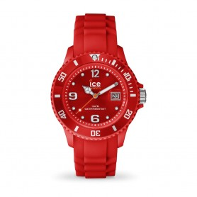 Déstockage montre Ice Watch Ice Forever rouge en soldes