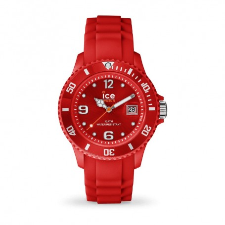 Solde montre Ice Watch Ice Forever rouge en soldes
