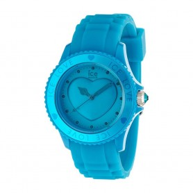 Déstockage montre femme ICE WATCH en solde montre Ice Love Aber Blue LO.FB.U.S.11