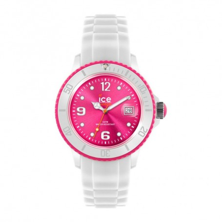 Solde montre ICE WATCH Déstockage montre Ice White White Pink pas cher