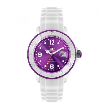 Solde montre ICE WATCH Déstockage montre Ice White White Purple pas cher