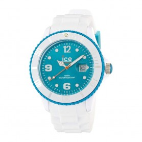 Solde montre ICE WATCH Déstockage montre Ice White White Turquoise pas cher