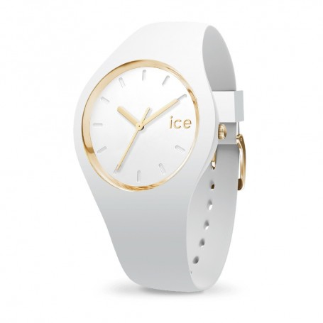 Déstockage montre ICE WATCH collection ICE GLAM WHITE en soldes