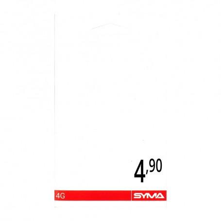 Déstockage carte SIM SYMA commander carte SIM prépayée SYMA 4,90€ en soldes avec 4€ de crédit de communication inclus