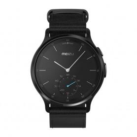 Solde montre connectée promo MEIZU Déstockage montre connectée bluetooth MEIZU MIX cuir noir MZWA1S pas cher