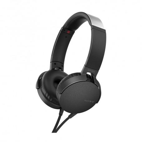 SOLDE SONY Déstockage casque audio arceau supra aural Sony MDR-XB550AP pas cher