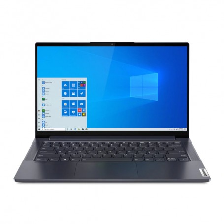 SOLDES LENOVO YOGA SLIM 7 Déstockage pc portable Lenovo Yoga Slim 7 14ARE05 AMD Ryzen 5 4500U 8Go 256Go SSD Win 10 pas cher
