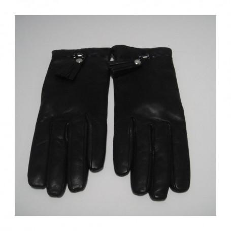 Déstockage gants en cuir et cachemire Le Classique Premier Flirt Lancel en soldes