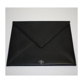 Soldes housse iPad enveloppe en cuir Remember Me Lancel