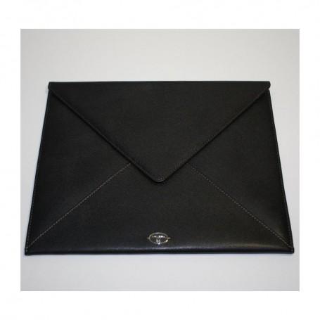 Déstockage housse iPad enveloppe en cuir Remember Me Lancel en soldes