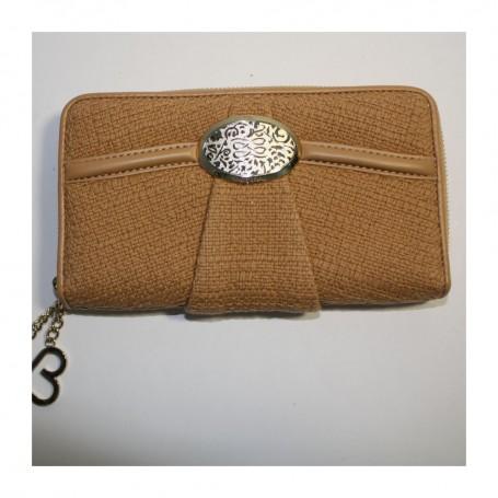 Déstockage Lancel portefeuille femme coton biologique Le Compagnon Brigitte Bardot Lancel en soldes