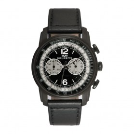 Solde montre homme BOMBERG déstockage montre Bomberg Semper Chronographe Black Luminova 42 mm pas cher