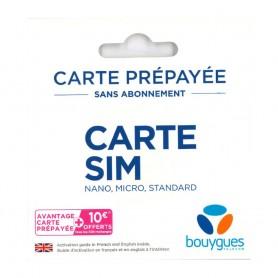 Carte SIM prépayée Bouygues Telecom