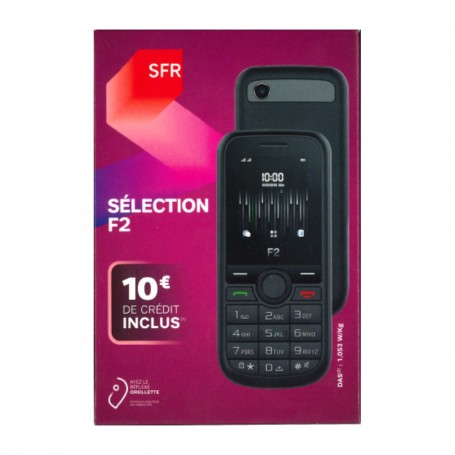 Déstockage pack mobile prépayée SFR Sélection F2 en soldes