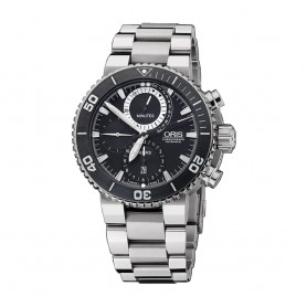Déstockage montre de plongée homme Oris Carlos Coste Chronograph Limited Edition en soldes