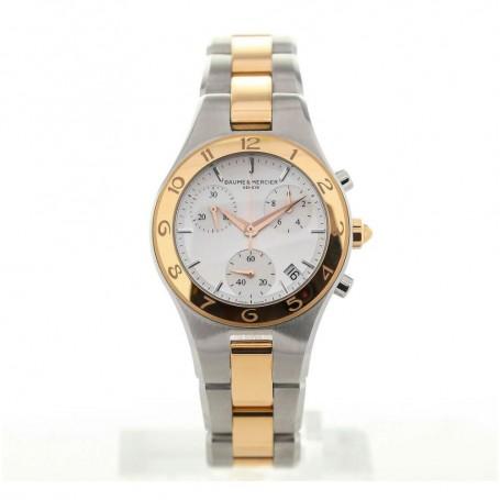 Déstocakge montre femme Linea chronographe bicolore M0A10016 en soldes