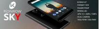 """Bonnes affaire Konrow destockage smartphone 4G double SIM 5.5"""" 1.3 GHz 16 Go Konrow Sky prix discount"""