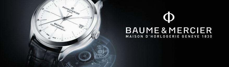 Déstockage montre luxe Baume & Mercier en soldes