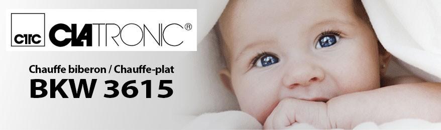 Déstockage Clatronic - Chauffe biberon et chauffe-plat pour bébé 100 W