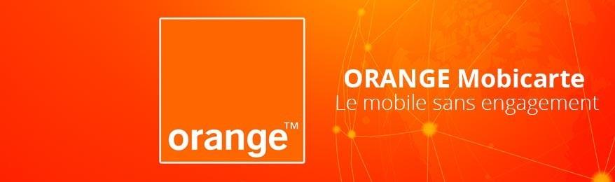Solde cartes SIM prépayée Orange Mobicarte pas cher