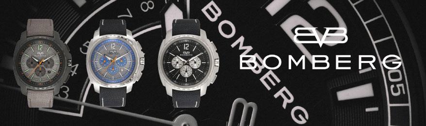 déstockage Bomberg - montre homme chronographe grand cadran en soldes