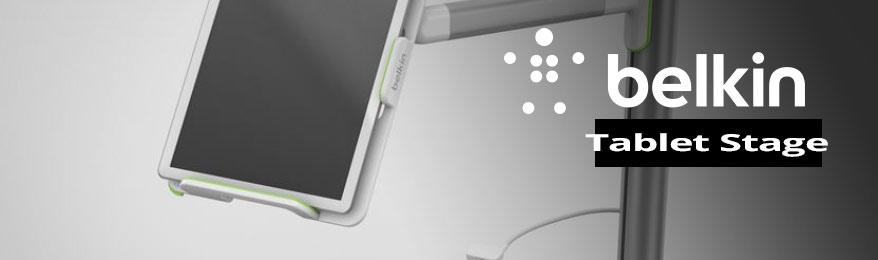 Belkin Tablet Stage, accessoire de présentation interactif pour tablettes tactiles