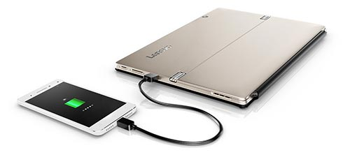 Port USB toujours alimenté Lenovo IDEAPAD MIIX 720-12IKB