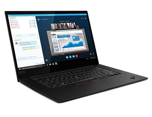 Lenovo ThinkPad X1 Extreme Gen 2 le pc portable préféré des administrateurs IT