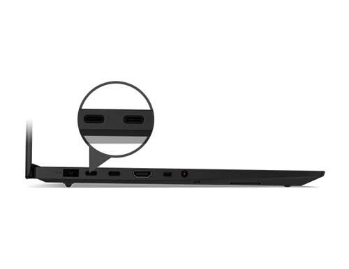 Lenovo ThinkPad X1 Extreme Gen 2 transfert ultra rapide grâce à ses ports USB-C Thunderbolt 3
