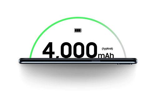 Samsung Galaxy A10s Batterie longue durée 4000 mAh