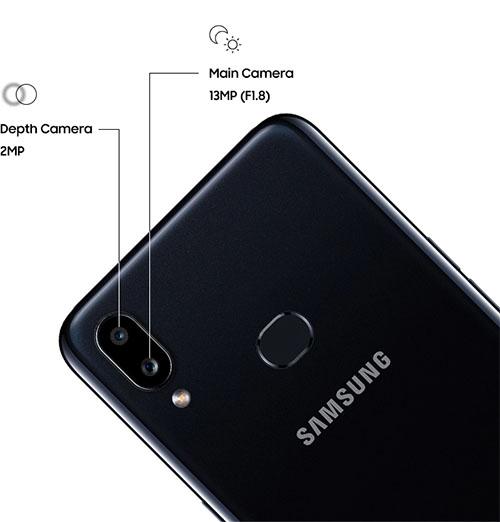 Samsung Galaxy A10s Double appareil photo 13 MP + 2 MP