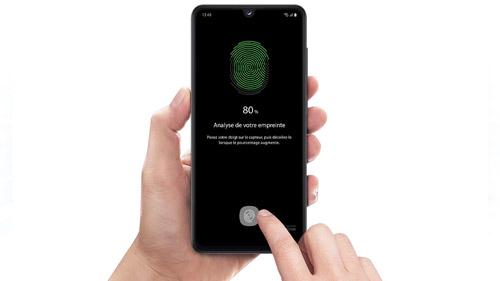 Samsung Galaxy A31 Capteur biométrique