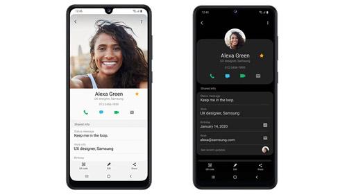 Samsung Galaxy A31 Interface intuitive ONE UI