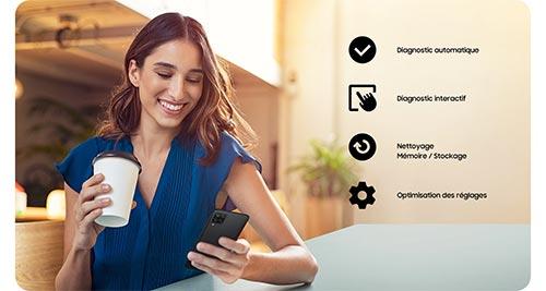 Samsung Galaxy A32 application samsung members