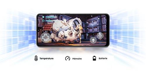 Samsung Galaxy A31 Game Booster pour booster les performances lors de vos parties