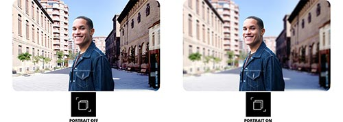 Samsung Galaxy A32 photo en mode portrait actif