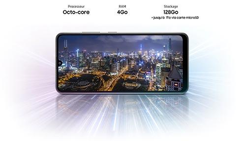 Samsung Galaxy A32 processeur octo-core 2GHz 4Go RAM