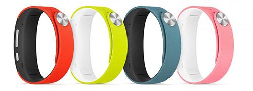 Changez le bracelet de sa montre connectée et capteur d'activité Sony SmartBand Talk SWR30